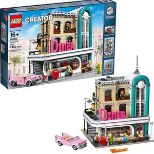 Brand new Lego Downtown Diner #10260